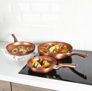 3-piezas-de-cobre-metalico-cermalon-Ceramica-Induccion-Sarten-Juego-de-utensilios-de-cocina