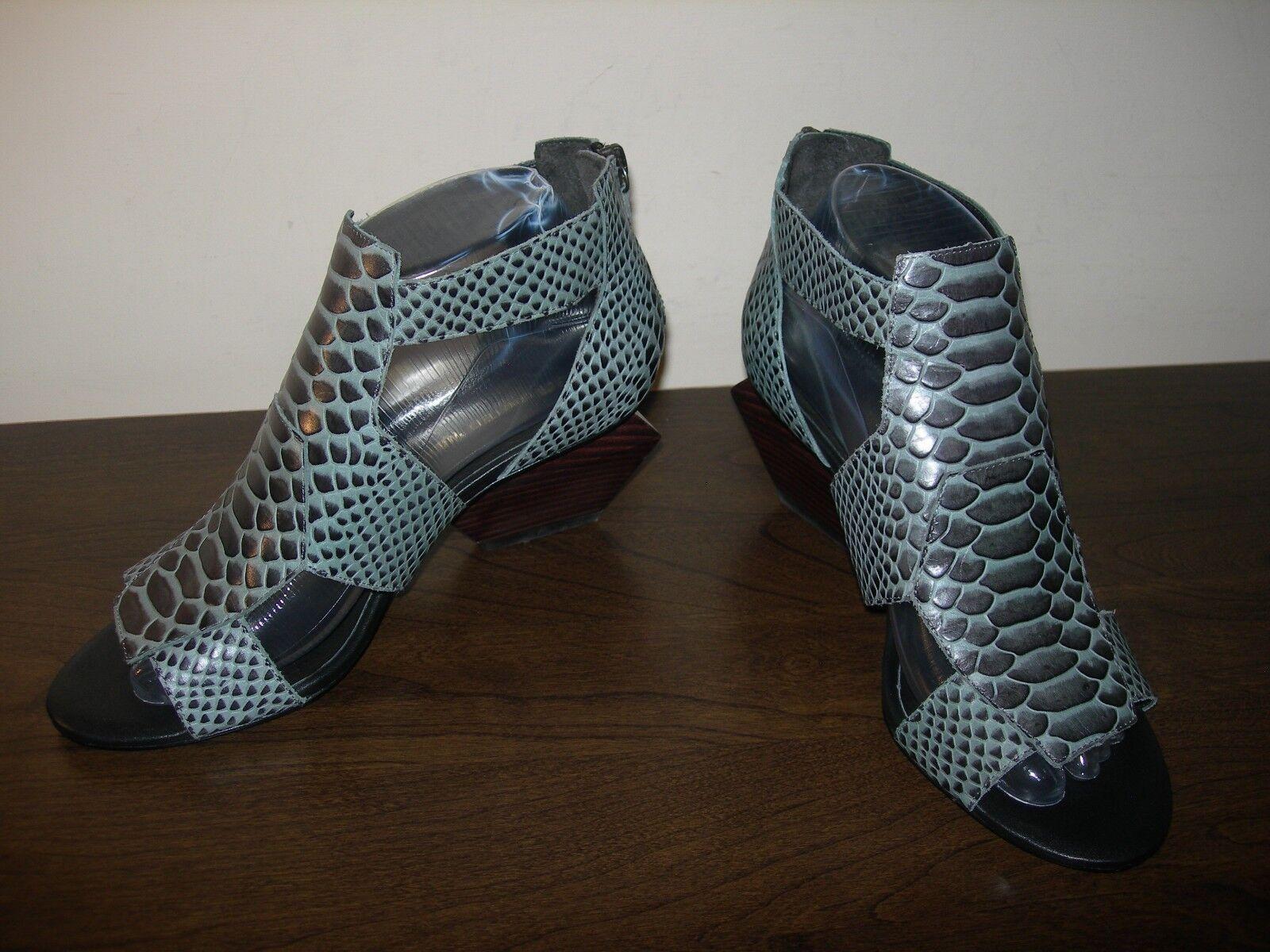 United Nude Chaussures Femmes Sandales Talons Cuir Imprimé Animal eu 38 UK 5 Slim