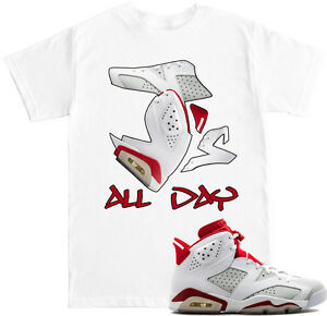 2ac05ef872122f Js ALL DAY Alternate 6 T Shirt to match with Air Jordan 6 Alternate ...