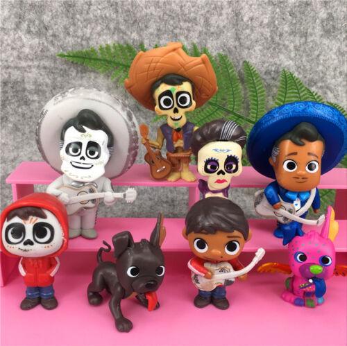 Film, TV & Videospiele 8 teile satz Coco Film Miguel HECTOR Dante Imelda Pepita Figure Geschenk
