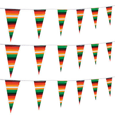 100ft  Serape Pennant Banner Garland FIESTA Cinco De Mayo Luau PARTY Decor