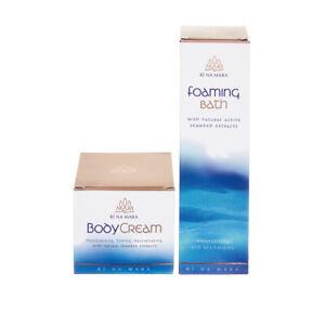 Seaweed-Cosmetics-Moisturising-Body-Cream-Foaming-Bath-Gift-Set