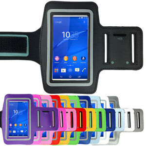 Sports-Gym-Running-Exercise-Armband-Arm-Band-Case-for-SONY-Xperia-Z3-Z2-Z1-Z5-Z
