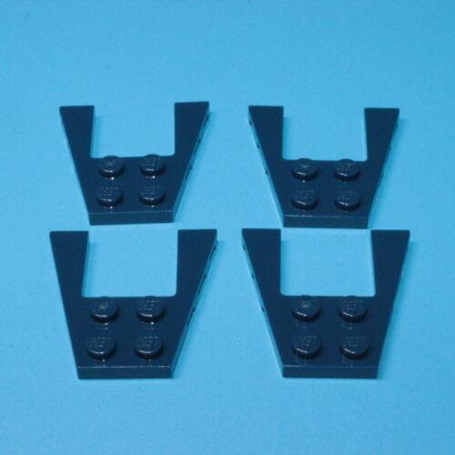 43719 Lego ® 4x ailes plaque 4x4 bleu foncé Earth Blue 6102890