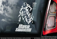 Marco Simoncelli - Moto GP Car Sticker -Super Sic #58- PROCEEDS TO CHARITY -TYP1