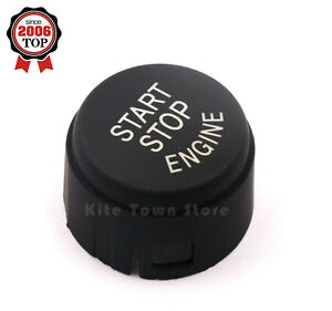 Silver Start Stop Engine Push Button Switch Cover For BMW F01 F02 F10 F11 US