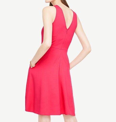 ANN TAYLOR Women's Sleeveless Dress in Pink