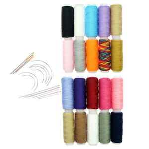34Pcs-Polyester-Sewing-Thread-Hand-Sewing-Needles-Set-for-Darning-Embroidery
