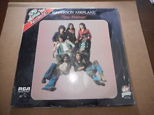 JEFFERSON-AIRPLANE-TIME-MACHINE-VINYL-2LP-039-S-RCA-PAIR-RARE-PSYCH-ROCK