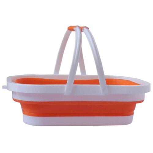 Faltbares Wasch Becken zum Waschen Von Geschirr Beim Camping, Wandern unL1Q2 1X