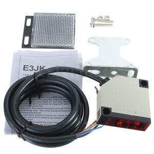 E3JK-R4M1-DC-10-24V-3A-Specular-Reflection-Photoelectric-Sensor-Switch-w-Screws
