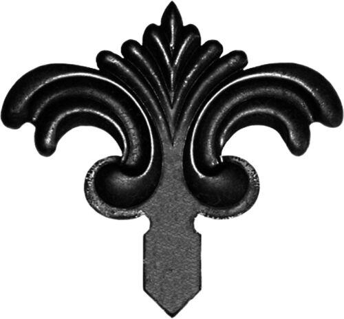 Décoratifs zaunornament décor groupes en métal pour clôture clôture de jardin portail 065