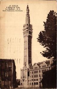 CPA-LILLE-L-039-Hotel-de-Ville-Le-Beffroi-663423