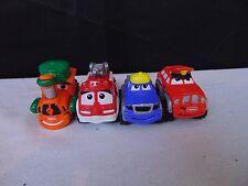 Tonka Die Cast Metal Toy Car 4 Piece Lot Fire Truck Train Engine #420