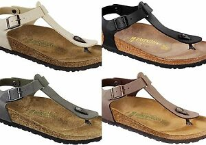 Image is loading Birkenstock-Kairo-Thong-Sandal-Man-Woman-numbers-35- 483cb00c7de
