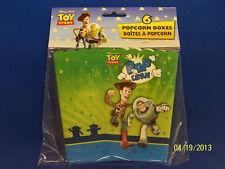 RARE Toy Story 3 Disney Pixar Movie Kids Birthday Party Favor Popcorn Boxes *
