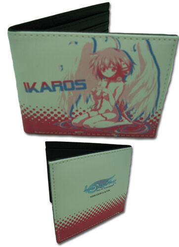 **Legit** Heaven/'s Lost Property SD Ikaros Authentic Anime Bifold Wallet #61844
