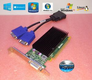 Dell Dimension 2010 4700 5000 5100 5150 8400 9100 HD Dual Display VGA Video Card