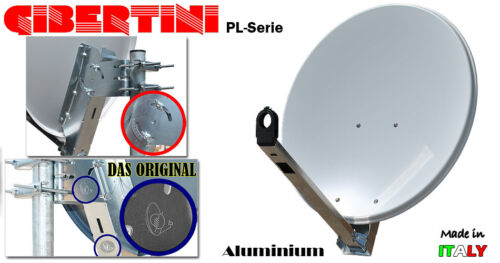 Astra Hobird Sat-Anlage Komplettset GIBERTINI mit Monoblock LNB 1 Teilnehmer HD