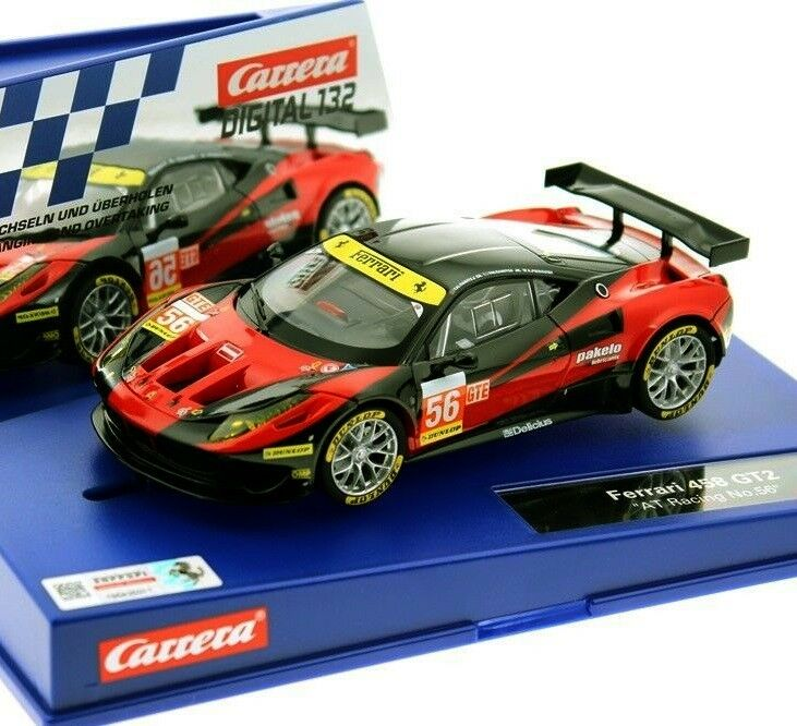 Carrera 30733 Digital Ferrari 458 Italia GT2 Coche Ranura 1 32