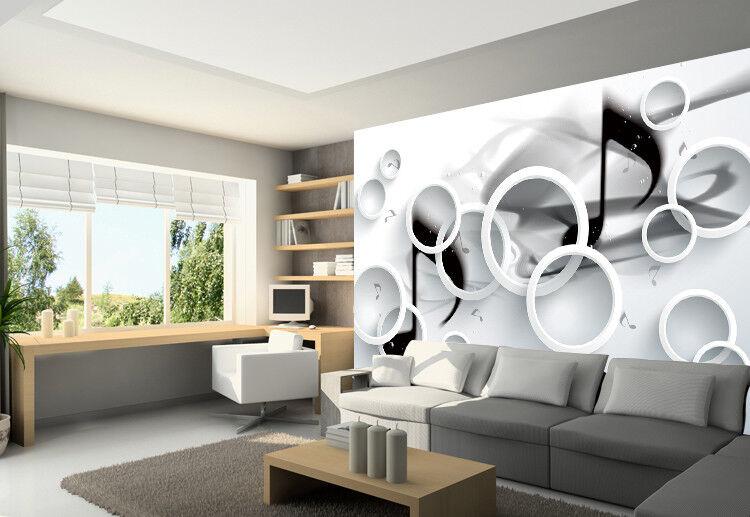 3D Circle Music 419 Wallpaper Murals Wall Print Wallpaper Mural AJ WALLPAPER UK
