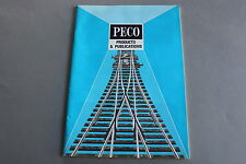 X377 PECO Train catalogueO OO Ho N 64 pages Angl model railways products