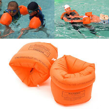 One Pair Swimming Band Arm Ring Floating Inflatable Adult Child Sleeves