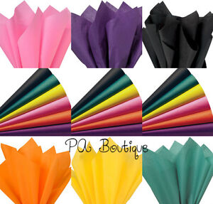 """PASTEL ASSORTMENT Tissue Paper for Gift Wrapping 15/""""x20/"""" Sheets Eco-Friendly"""