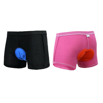 Women Quick Dry Bicycle Cycling Shorts Underwear Pants Lady 3D Padded Briefs