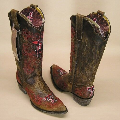 Texas Tech Women's Masked Rider Boots By Game Day In The color Brown