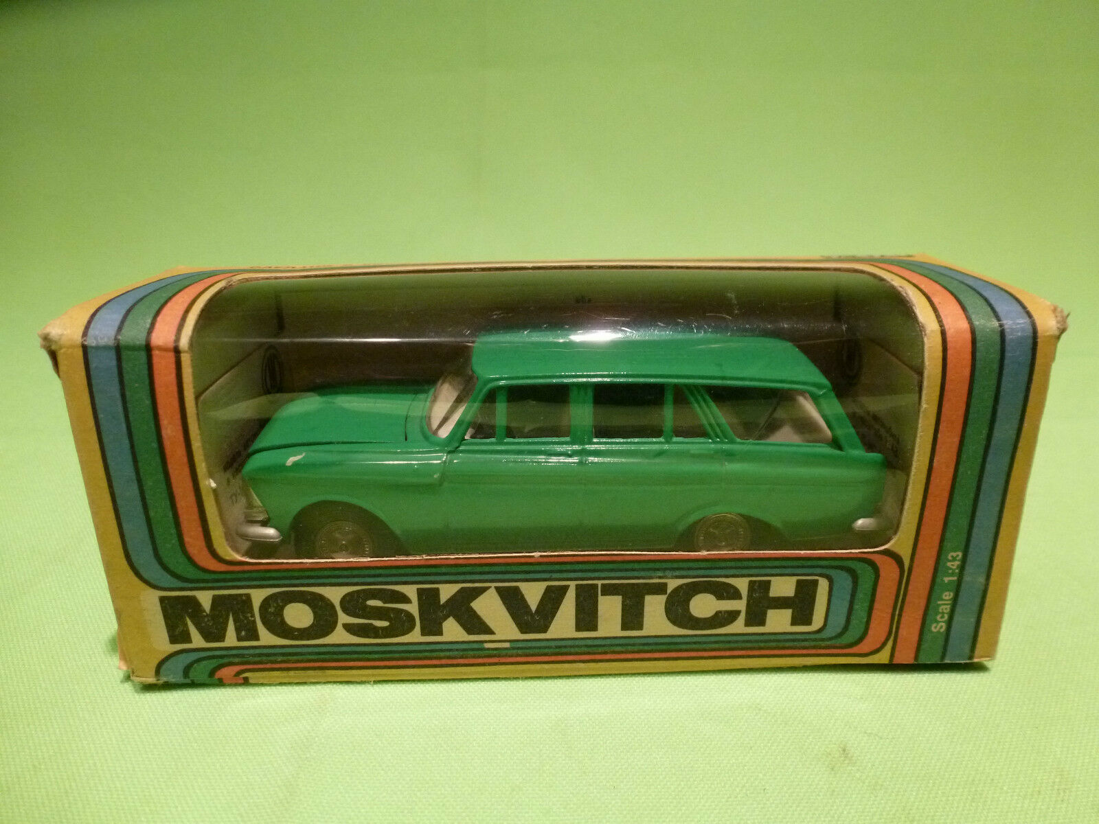 USSR  1 43  MOSKVITCH STATION vert  -  IN ORGINAL BOX.  -  IN GOOD CONDITION