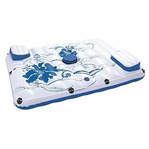 Bestway CoolerZ Side 2 Side 2-Person Inflatable Floating Lounge with Cooler Bag