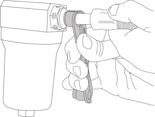 Lisle 39660 Transmission Oil Cooler Line Scissors