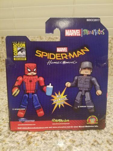 Marvel Minimates SDCC Spider-Man Homecoming Movie Spider-Man /& Adrian Toomes