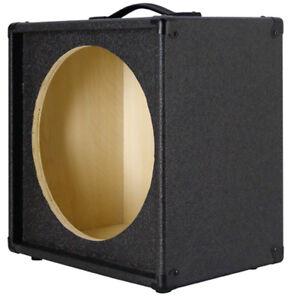 1x15 empty guitar speaker cabinet for 15 jbl e130 or e140 charcoal black tolex ebay. Black Bedroom Furniture Sets. Home Design Ideas