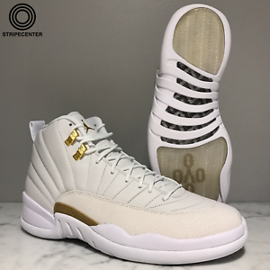 AIR JORDAN 12 RETRO  OVO  - WHITE METALLIC GOLD-WHITE - 873864-102 ... 125195ff1