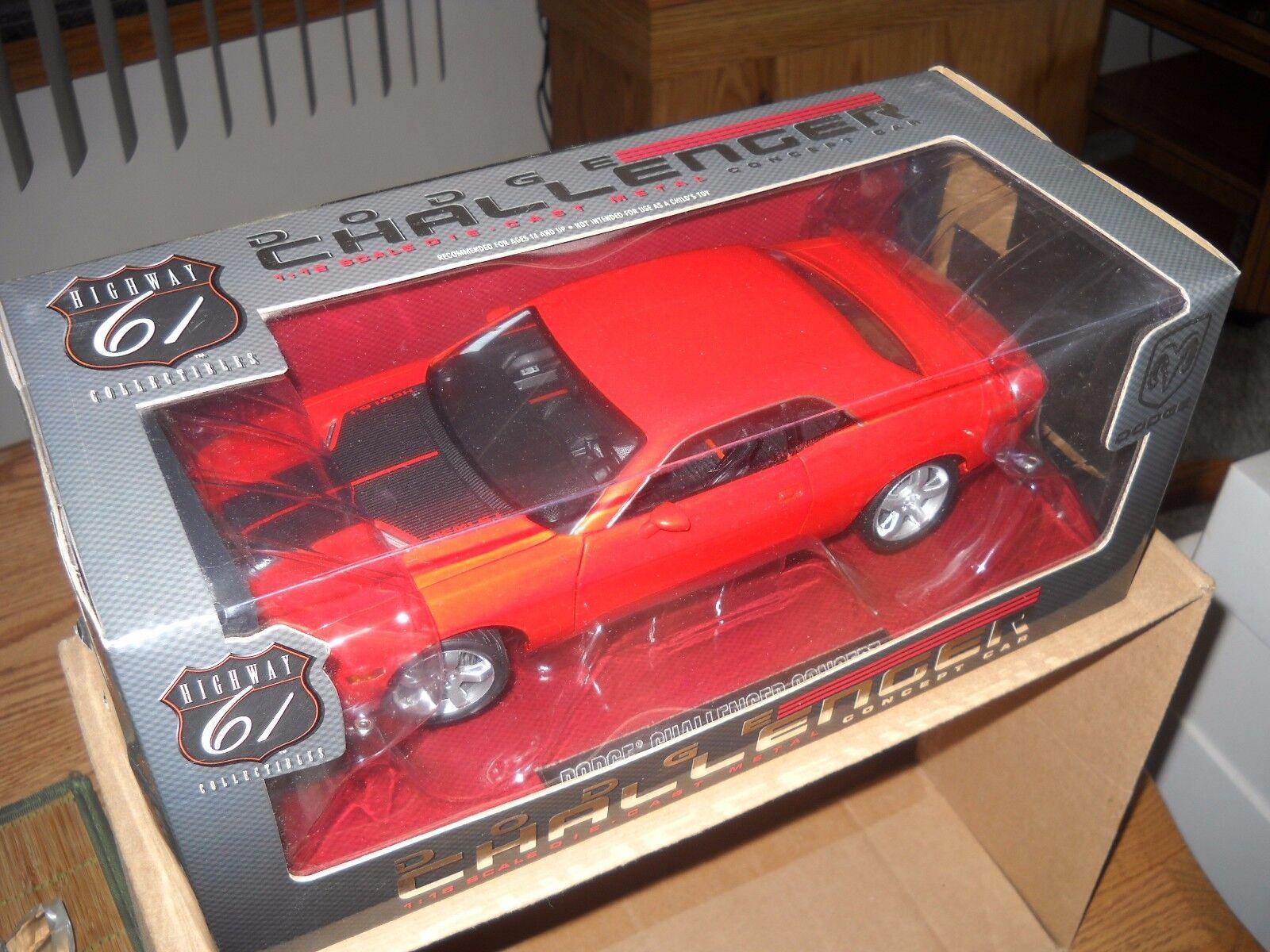 Die autobahn 61  dodge challenger concept car - hemi 6,1 -   50502-Orange-1   18 - skala