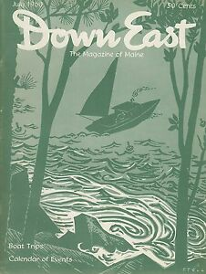 Details about Down East Maine Magazine 1960 July Freeport  Cannon/Lincolnville/Digging Clams
