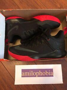 20cb9ff0c48 A imagem está carregando Nova-Masculina-Nike-Zoom-Shift-Preto-Vermelho -Tamanho-