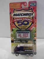 Matchbox Across America 50th Birthday Series Airport Fire Pumper Alabama