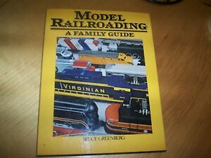 book model railroading a family guide by bruce greenberg - <span itemprop='availableAtOrFrom'>Hampton, United Kingdom</span> - book model railroading a family guide by bruce greenberg - Hampton, United Kingdom