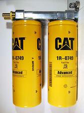 Cummins Diesel Remote 1 Micron Fuel Dual Filter Mount, NO CAT 1R-0749 SHD/XTDGA