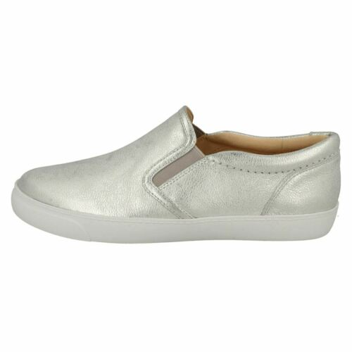 LADIES CLARKS GLOVE PUPPET SLIP ON CASUAL PUMPS COMFORT LIGHTWEIGHT SHOES SIZE