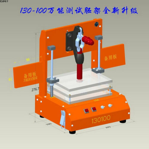 Universal PCB Testing Jig PCBA PCB Testing Fixture Tool Bakelite Fixture Test