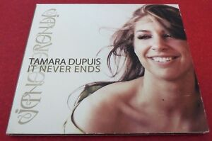 Digipak-CD-Tamara-Dupuis-It-Never-Ends-Seg-Pop-Canada-Album