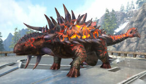 Ark Survival Evolved Xbox One PvE Genesis x2 X-Ankylosaurus Fert Eggs