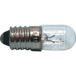 10x-Gluhbirne-E-10-Rohrenlampe-Skalenlampe-klar-Rohrenform-10-Stuck
