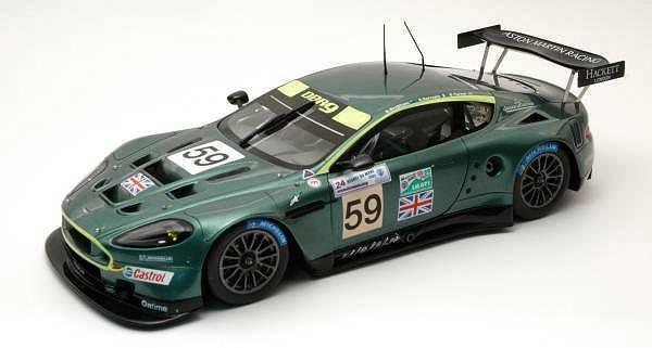 Aston Martin Dbr 9   59 Lm 2005 1 24 Model S2403 SPARK MODEL  Stade Cadeaux