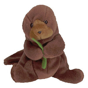 18d2a356cc3 Image is loading TY-SEAWEED-Beanie-Baby-Otter-MWMT-4th-Gen-