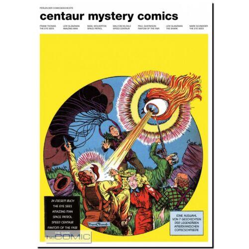 Perlen der Comicgeschichte 1 BSV Centaur Mystery Comics Golden Age Ära LP 20er